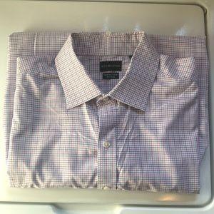 Men's Rochester Dress Shirt w/ Pocket Neck 18.5